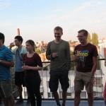 Jubiläums-Feier mit Dachterasse